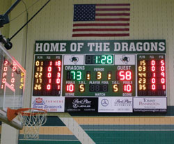High Tech Scoreboards And Video Displays Finding Favor In