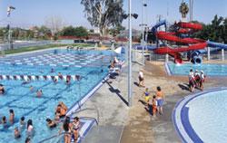 Aquatic center aquatic center roseville for Pool design roseville ca