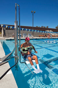 Pool operators still confused by latest ada standards - Swimming pool wheelchair lift law ...