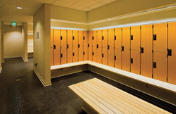 Beautiful Efficient Locker Room Design Maximizes Use Of Small Spaces Great Ideas