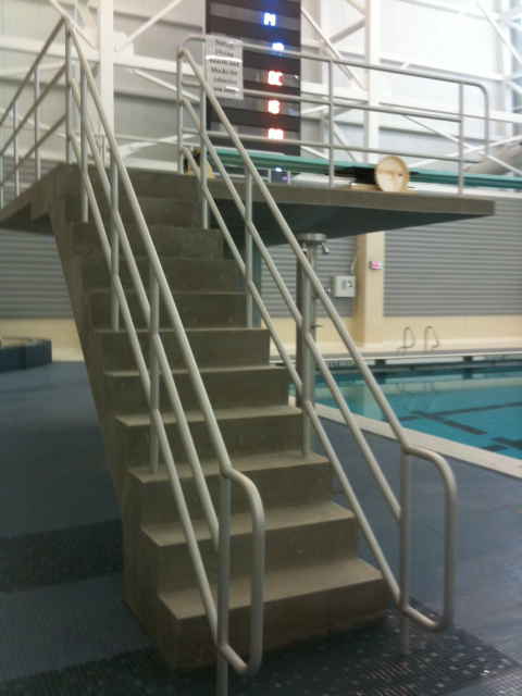 Extra vigilance necessary with 3 meter diving boards for Decking boards 3 6 metres