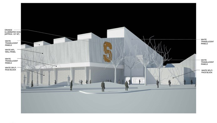 Syracuse unveils plans for new practice facility for Plan and print syracuse
