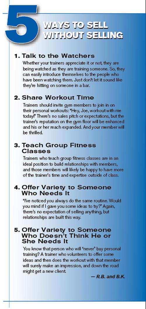 How To Help Personal Trainers Improve Their Sales Skills Athletic