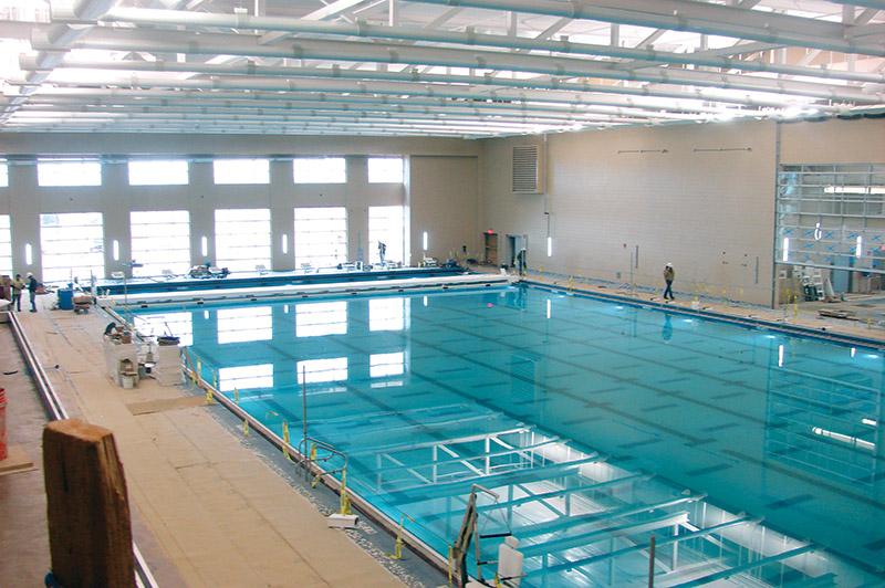 New projects missouri st louis msu fort walton beach for Garden city ymca pool schedule