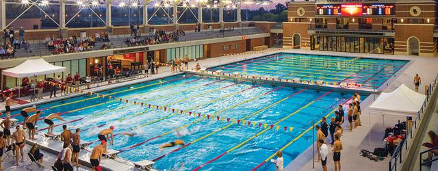 Giving aquatic competition venues star treatment - University of alberta swimming pool ...