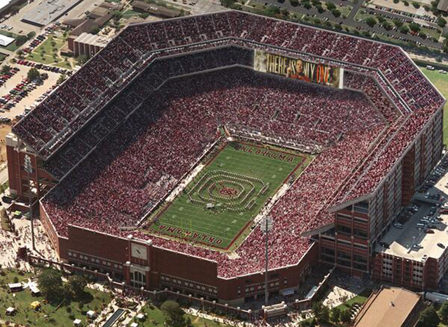 U. of Oklahoma Plans Major Football Stadium Expansion ...
