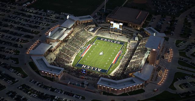 Allen Isd Spending Millions To Fix Unsafe 60m Stadium