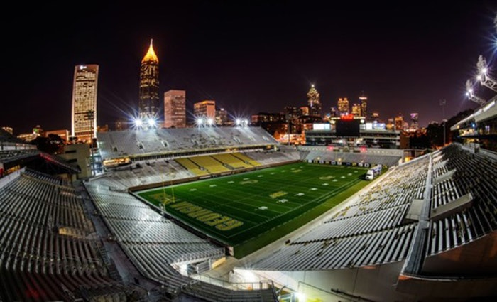 Fans at Georgia Tech's Bobby Dodd Stadium can now purchase concessions with bitcoin.