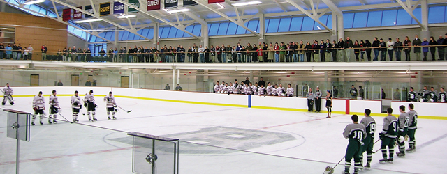 Glass Brightens Prep Hockey Rink Broadens Functionality
