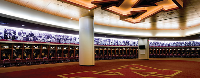 Inside The Modern Team Locker Room