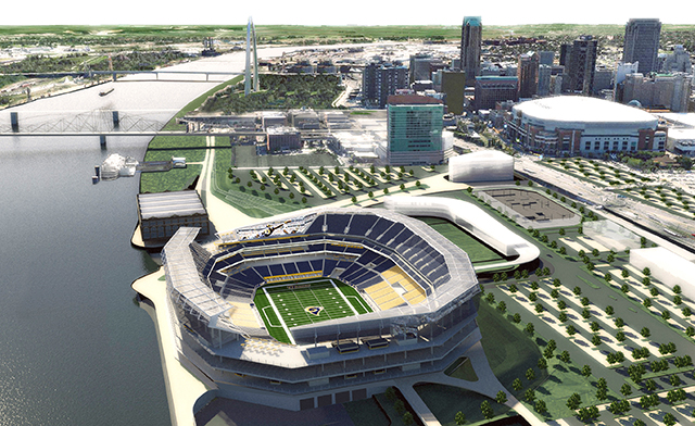 Here S How A 985m Rams Stadium Looks In St Louis Athletic Business