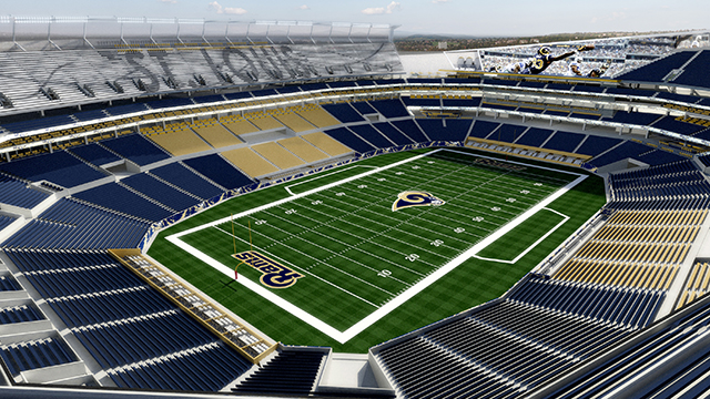 Here S How A 985m Rams Stadium Looks In St Louis