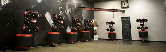 Star Trac's BoxMaster on display at the University of Missouri Student Recreation Complex. (Photo courtesy of MizzouRec)