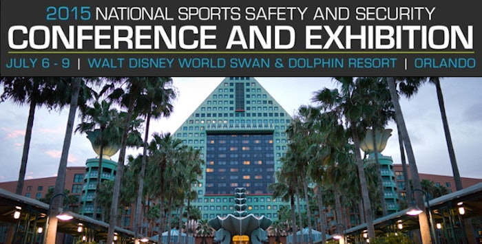 This year's mock trial is a new event for attendees at the 6th Annual National Sports Safety and Security Conference and Exhibition.