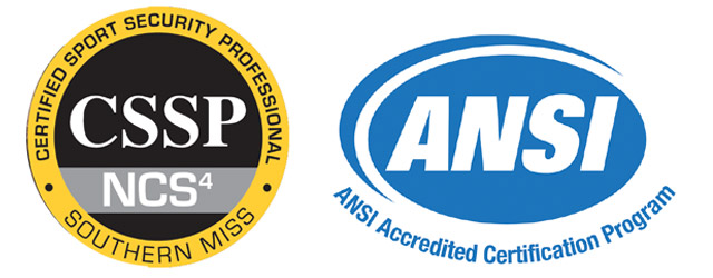 cssp ansi accredited program march sport
