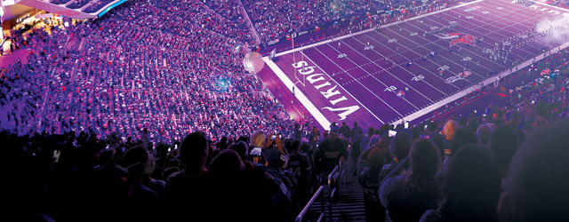 Led Lighting Brings Special Effects To Stadiums Athletic