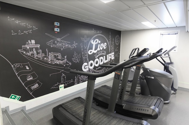 d87d4028df GoodLife Fitness Installs Fitness Facility on Royal Canadian Navy's ...