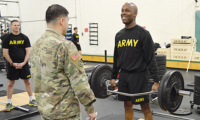 Military Debuts Army Combat Fitness Test - Athletic Business