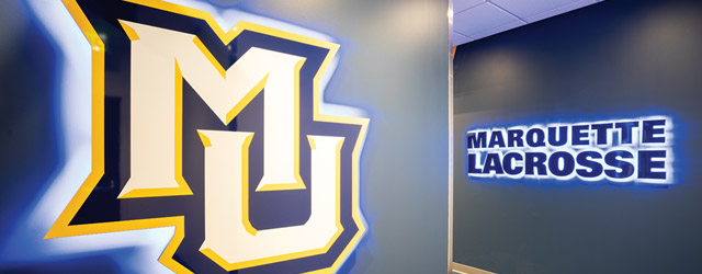 How Marquette Fast Tracked Lacrosse Locker Rooms Athletic Business