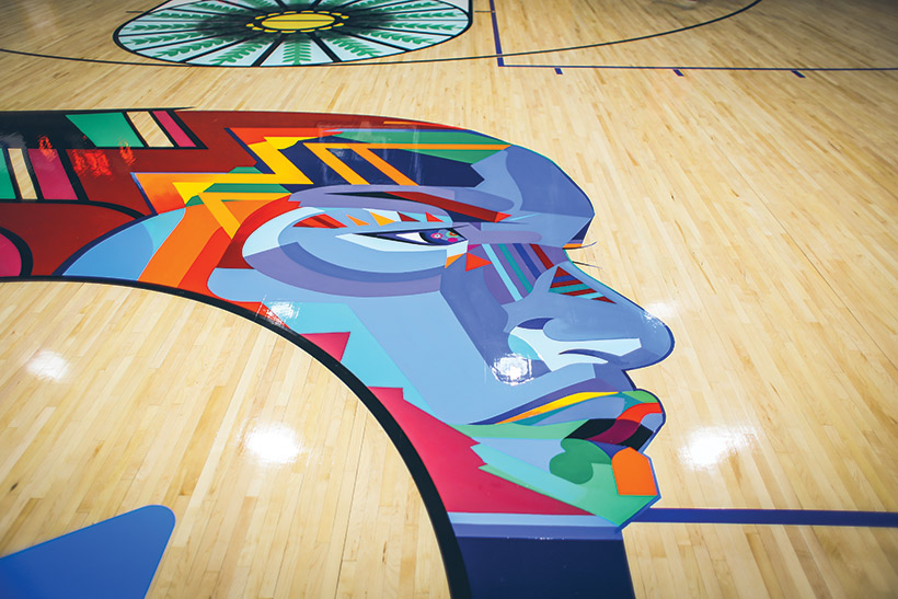 Gym Floor Designed To Create A Sense Of Belonging Athletic Business