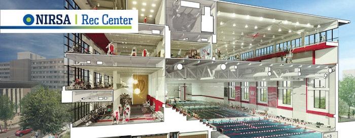 Nicholas Recreation Center, University of Wisconsin-Madison [Rendering by HOK]