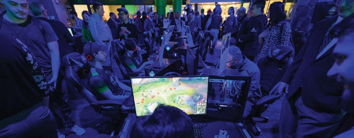 Grand opening of the Delaware Esports facility [Photo by Evan Krape]