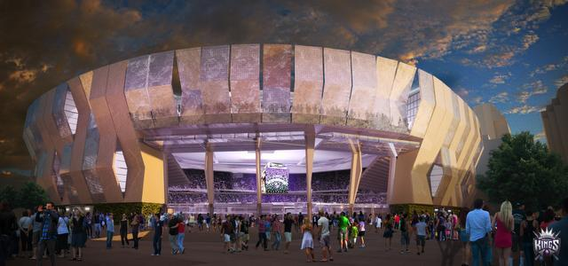Sacramento Kings Unveil New Arena Renderings Athletic
