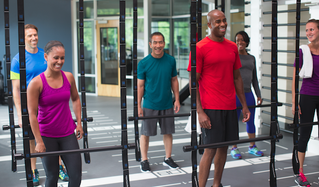 Queenax™ Functional Training [Photo courtesy Precor]