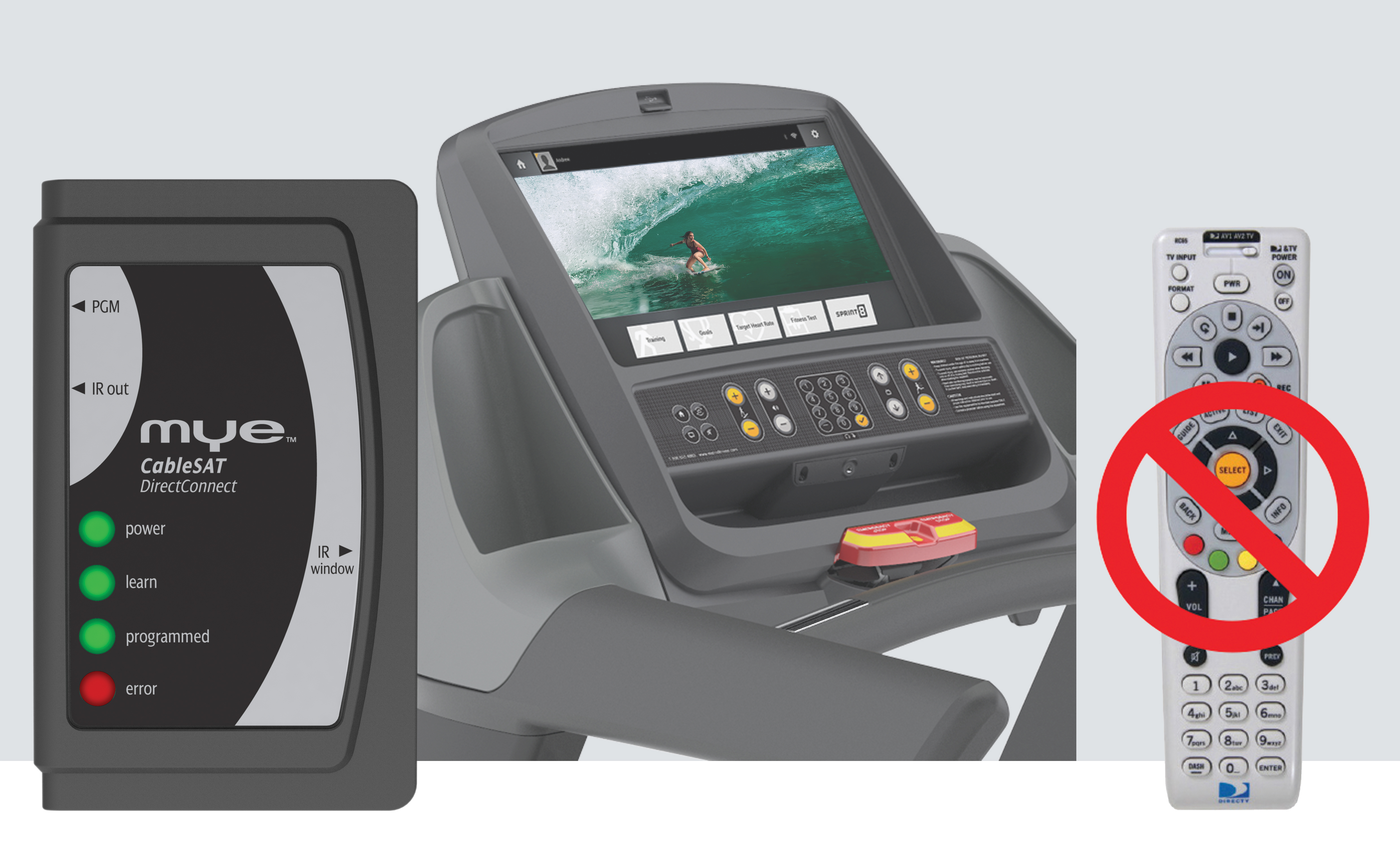 MYE CableSAT TV Channel Changers Create Cardio Equipment