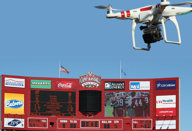 Drones Emerging as Security Threat at Domestic Sporting Events