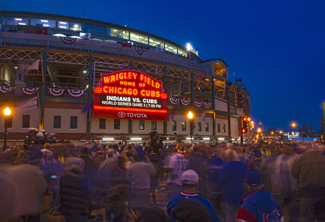 Security Preparations for the Cubs' World Series Win