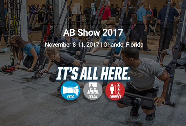 AB Show 2017 – More education, products and solutions. Register Today!