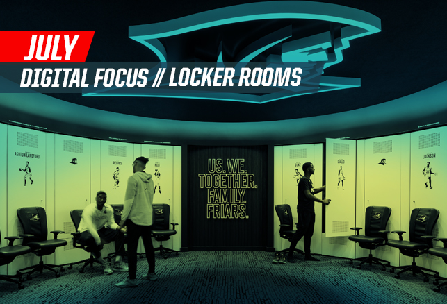 July Focus on Locker Rooms