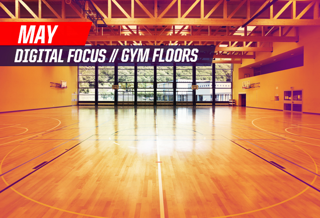 May Focus on Gym Floors