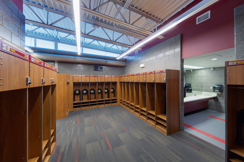 Sharing Can Optimize Team Locker Room Space Athletic