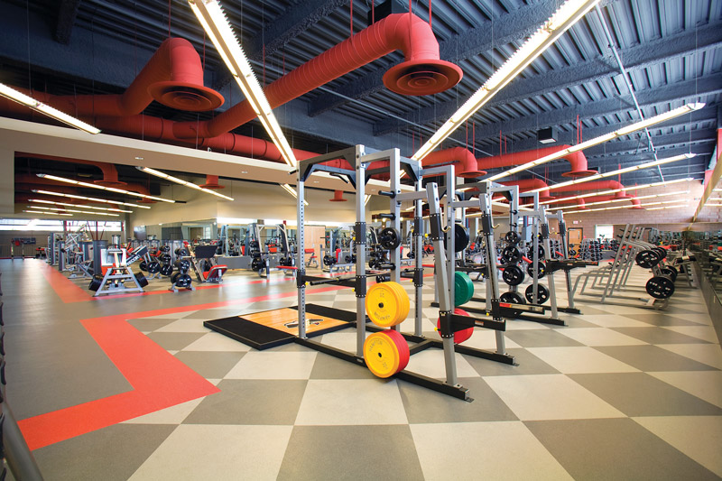 tips for maintaining and replacing weight room flooring. Black Bedroom Furniture Sets. Home Design Ideas