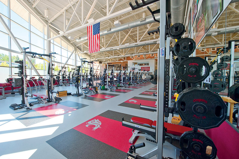 Tips For Maintaining And Replacing Weight Room Flooring Athletic
