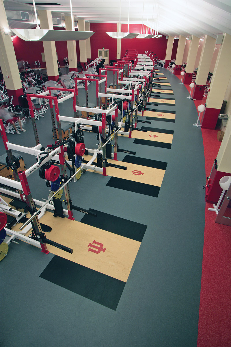 Training Room Flooring : Tips for maintaining and replacing weight room flooring