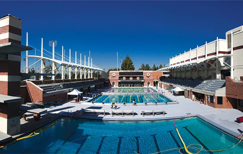 Giving Aquatic Competition Venues Star Treatment Athletic Business