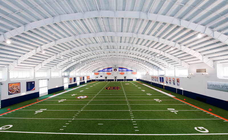 designing the modern college football practice facility