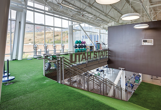 Design Details: Utah State Facility Ramps Up Prominence of Plyometric Training
