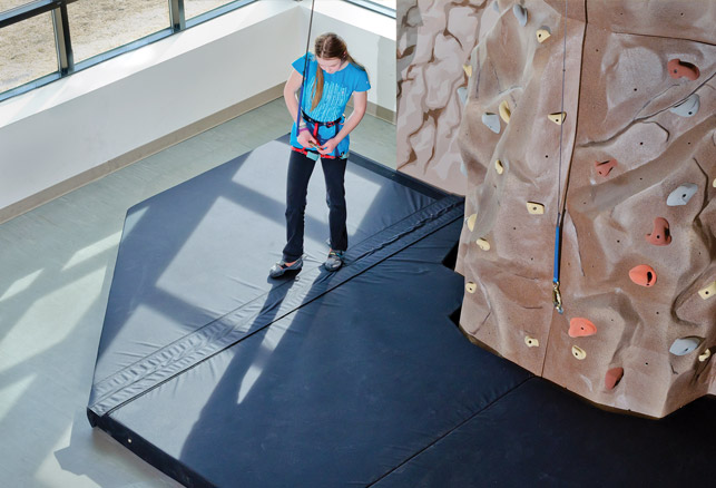One Aspect of a Climbing or Bouldering Wall Not to Overlook