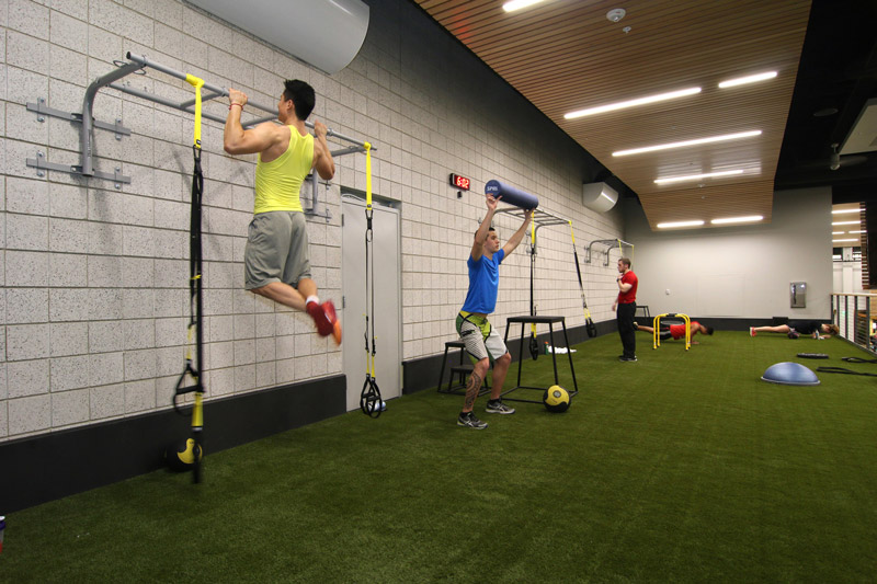 Fitness programming trends at prominent college rec