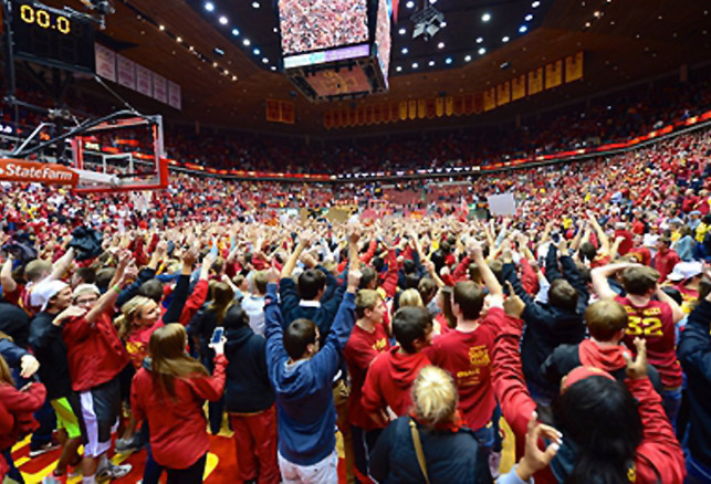 Controlling Court Storming at Athletic Events