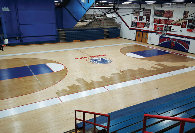 Basketball Court Design as Branding Tool