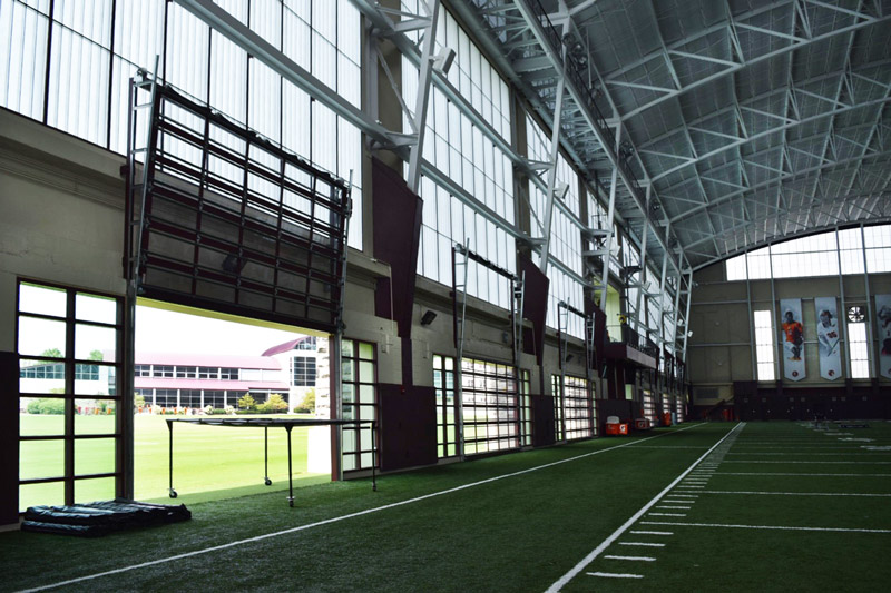 New projects new england sports village brothers for Athletic training facility design