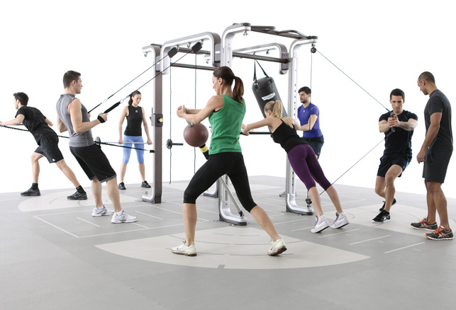 Functional Fitness Modular Structures Provide Variety