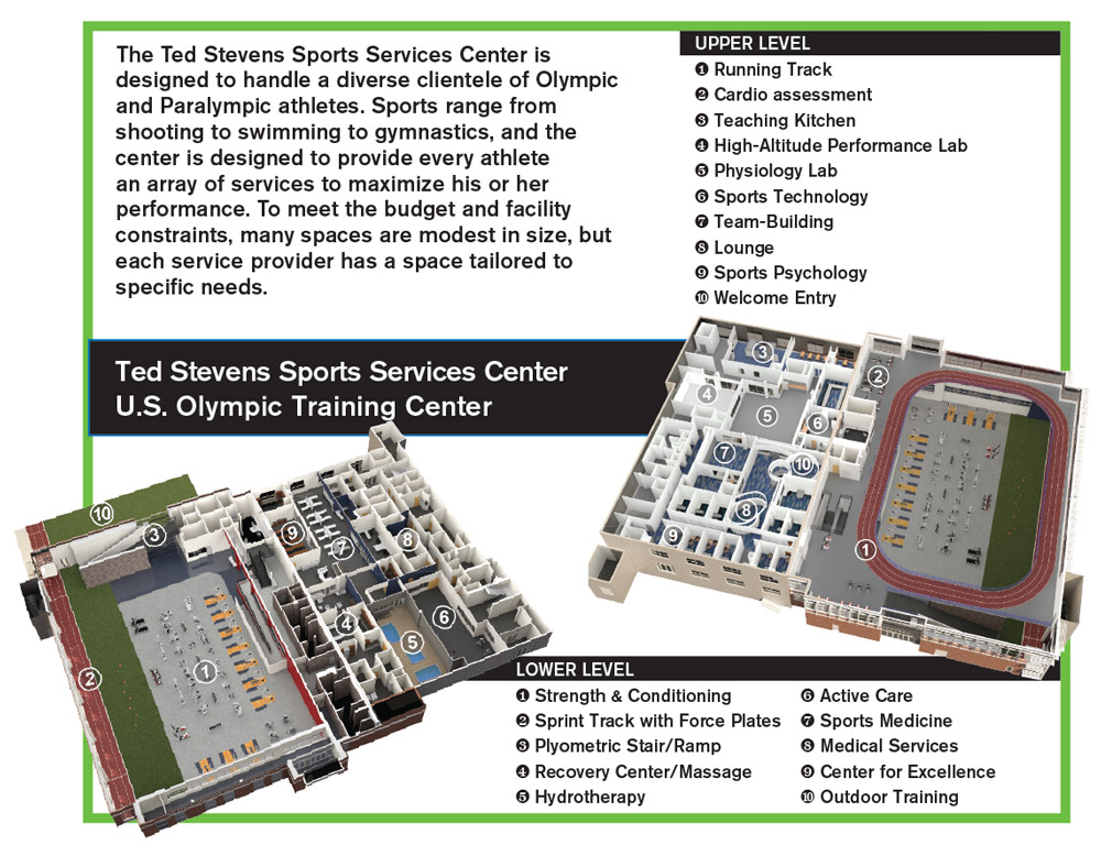 Designing a sports performance facility athletic business for Athletic training facility design