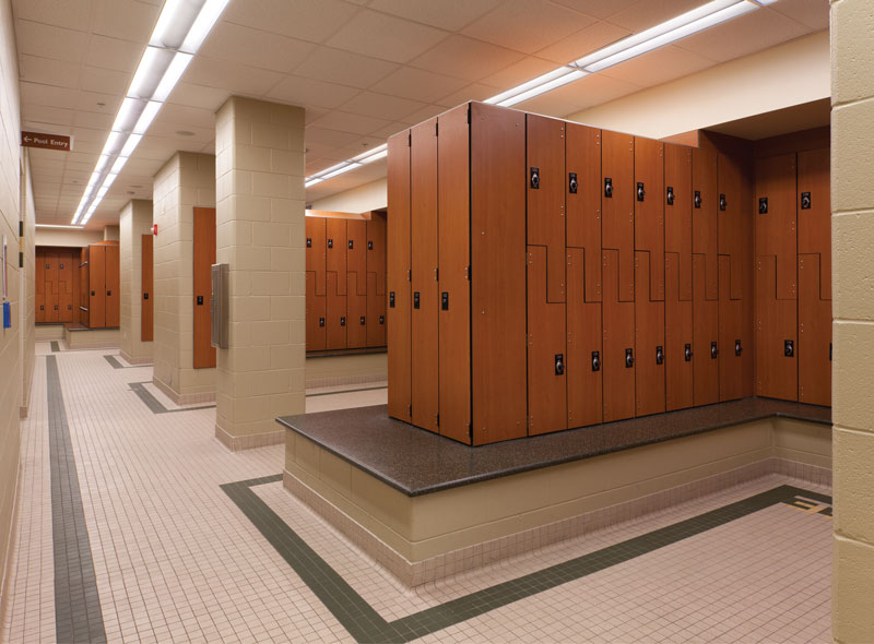Key drivers of campus locker room renovations athletic for House lockers
