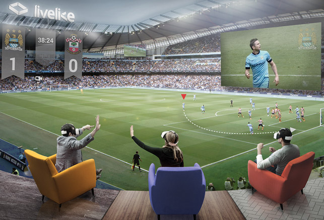 Virtual Reality's Role in the Future of Sports